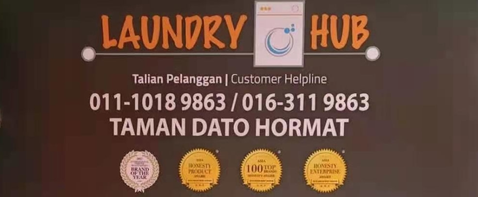 A new LaundryHub outlet is now ready operate at Taman Dato Hormat, Telok Panglima Garang.